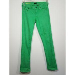 J Crew Matchstick Jeans Skinny Stretch Pants